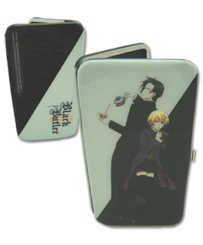 Black Butler 2 Claude & Aloise Hinge Wallet, an officially licensed Black Butler product at B.A. Toys.