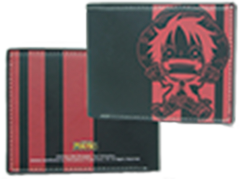 One Piece Luffy Wallet officially licensed product at B.A. Toys.