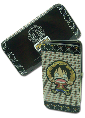 One Piece - Luffy Hinge Wallet officially licensed product at B.A. Toys.