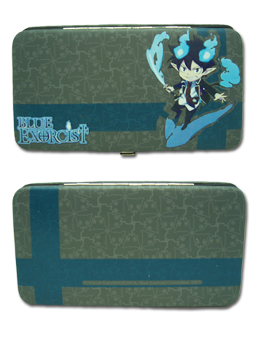 Blue Exorcist - Rin Hinge Wallet officially licensed Blue Exorcist Wallet & Coin Purse product at B.A. Toys.