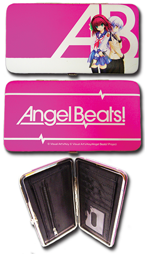 Angel Beats - Yuri And Kanade Hinge Wallet, an officially licensed Angel Beats product at B.A. Toys.