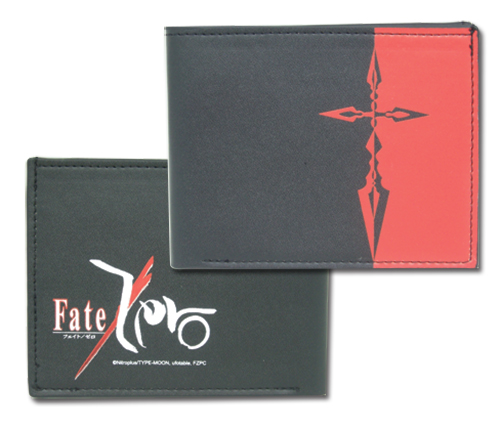 Fate/zero Saber Symbol Bi-fold Wallet, an officially licensed Fate Zero Wallet & Coin Purse