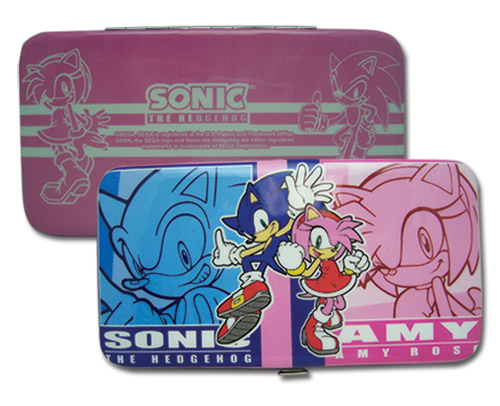 Sonic The Hedgehog Sonic & Amy Hinge Wallet, an officially licensed product in our Sonic Wallet & Coin Purse department.