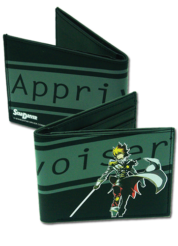 Star Driver Takuto Bi-Fold Wallet, an officially licensed product in our Star Driver Wallet & Coin Purse department.