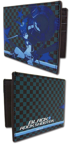 Black Rock Shooter Black Rock Shooter Blue Wallet, an officially licensed Black Rock Shooter product at B.A. Toys.