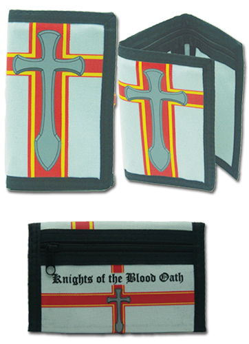 Sword Art Online Kob Tri-Fold Wallet, an officially licensed product in our Sword Art Online Wallet & Coin Purse department.