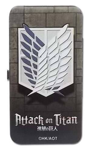 Attack On Titan - Scout Regiment Hinge Wallet, an officially licensed Attack On Titan product at B.A. Toys.