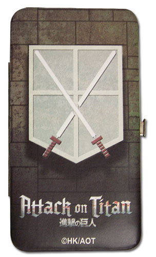 Attack On Titan - Cadet Corps Hinige Wallet officially licensed Attack On Titan Wallet & Coin Purse product at B.A. Toys.