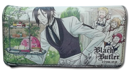 Black Butler - Phantomhive Servants Wallet, an officially licensed Black Butler product at B.A. Toys.