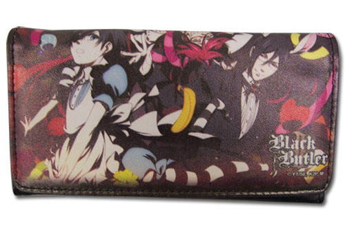 Black Butler 2 - Ciel In Wonderland Wallet, an officially licensed product in our Black Butler Wallet & Coin Purse department.