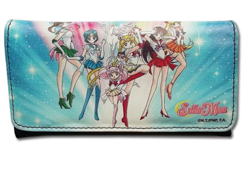Sailor Moon - Sailor Soldiers And Pegasus Wallet, an officially licensed product in our Sailor Moon Wallet & Coin Purse department.