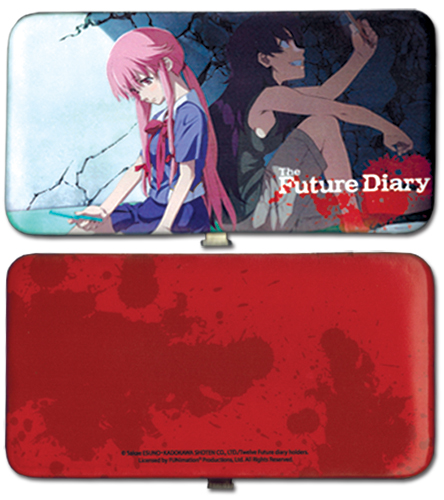 Future Diary - Yuno And Yukiteru Hinge Wallet, an officially licensed product in our Future Diary Wallet & Coin Purse department.