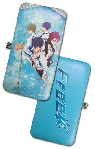 Free! - Group Hinge Wallet, an officially licensed product in our Free! Wallet & Coin Purse department.