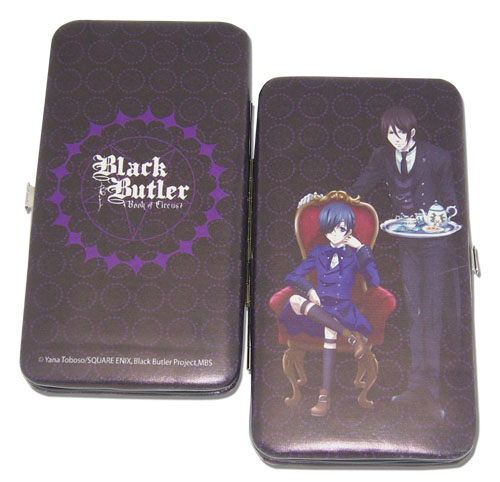 Black Butler Boc - Sebastian Ciel Wallet, an officially licensed product in our Black Butler Book Of Circus Wallet & Coin Purse department.