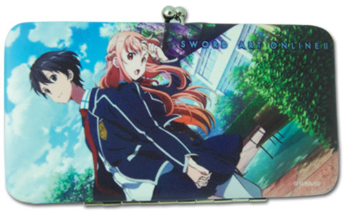 Sword Art Online Ii - Kirito & Asuna Wallet, an officially licensed product in our Sword Art Online Wallet & Coin Purse department.