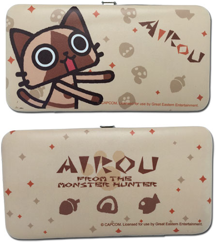 Monster Hunter - Airou Hinge Wallet, an officially licensed product in our Monster Hunter Wallet & Coin Purse department.
