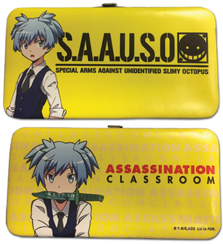 Assassination Classroom - Nagisa Hinge Wallet, an officially licensed product in our Assassination Classroom Wallet & Coin Purse department.