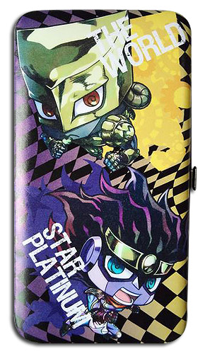 Jojo - Star Platinum + The World Hinge Wallet, an officially licensed product in our Jojo'S Bizarre Adventure Wallet & Coin Purse department.