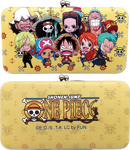 One Piece - Group Hinge Wallet, an officially licensed product in our One Piece Wallet & Coin Purse department.