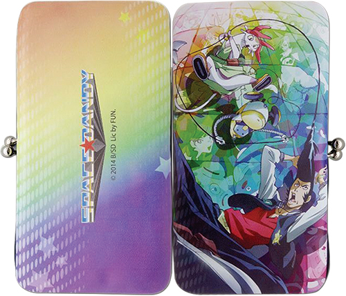 Space Dandy - Group Hinge Wallet, an officially licensed product in our Space Dandy Wallet & Coin Purse department.