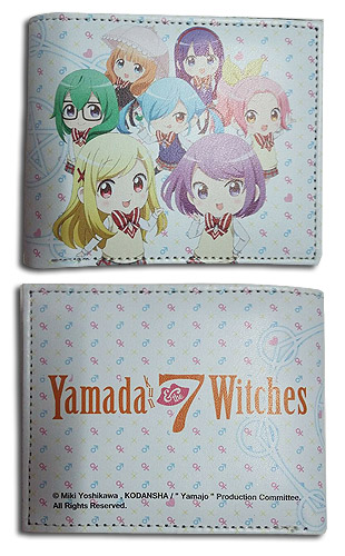 Yamada Kun - Group Wallet, an officially licensed product in our Yamada-Kun And The Seven Witches Wallet & Coin Purse department.