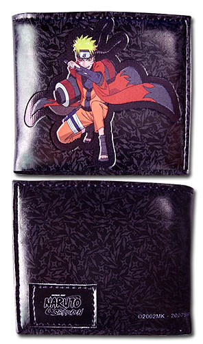 Naruto Shippuden - Sage Mode Naruto Bi-Fold Wallet, an officially licensed product in our Naruto Shippuden Wallet & Coin Purse department.