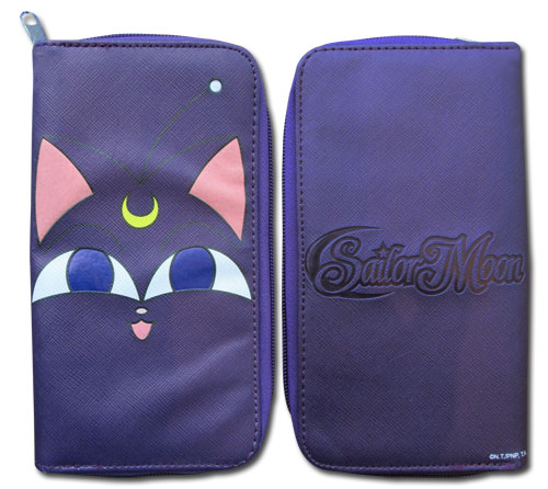 Sailor Moon S - Luna P Zip-Around Wallet, an officially licensed product in our Sailor Moon Wallet & Coin Purse department.