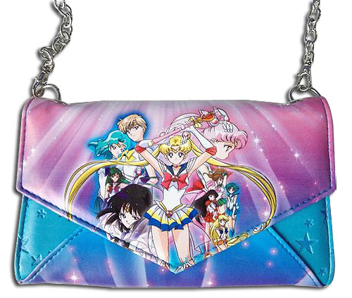 Sailor Moon S - Group Envelope Wallet, an officially licensed product in our Sailor Moon Wallet & Coin Purse department.