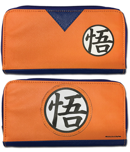 Dragon Ball Z - Goku Dougi Jrs. Zip Wallet, an officially licensed product in our Dragon Ball Z Wallet & Coin Purse department.