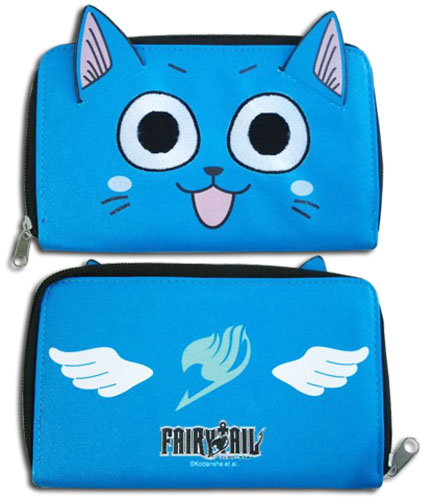 Fairy Tail - Happy Wallet, an officially licensed product in our Fairy Tail Wallet & Coin Purse department.