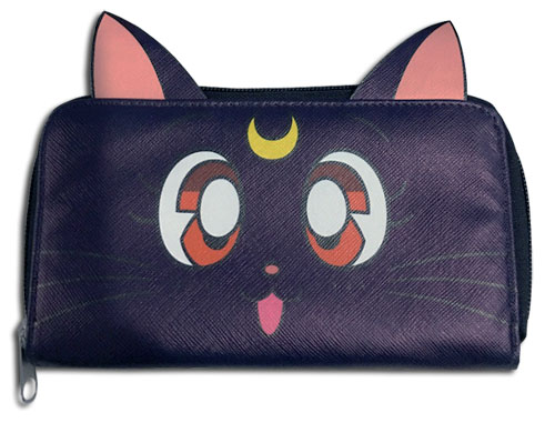 Sailor Moon - Luna Wallet, an officially licensed product in our Sailor Moon Wallet & Coin Purse department.