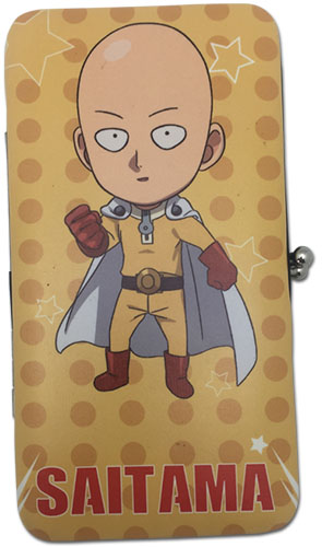 One Punch Man - Sd Saitama Hinge Wallet, an officially licensed product in our One-Punch Man Wallet & Coin Purse department.