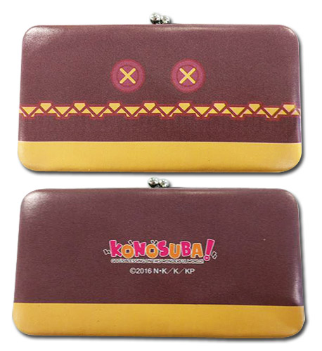 Konosuba - Megumin Hinge Wallet, an officially licensed product in our Konosuba Wallet & Coin Purse department.