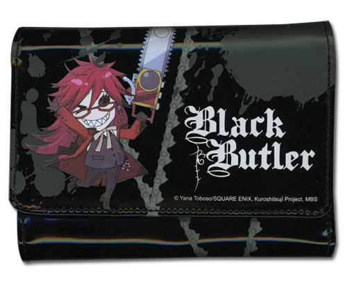 Black Butler Grell Girl Wallet, an officially licensed Black Butler product at B.A. Toys.