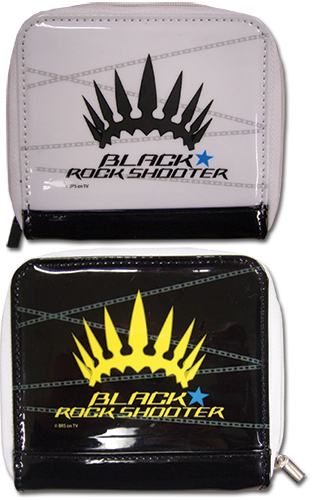 Black Rock Shooter Crt Crown Girl Wallet, an officially licensed Black Rock Shooter product at B.A. Toys.
