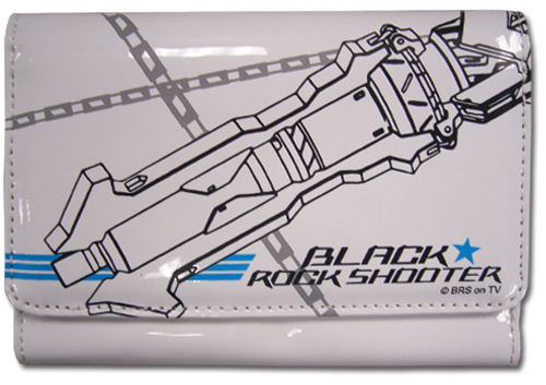 Black Rock Shooter Brs Buki Girl Wallet, an officially licensed product in our Black Rock Shooter Wallet & Coin Purse department.