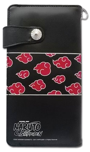 Naruto Shippuden Akatsuki Pattern Girl Wallet, an officially licensed product in our Naruto Shippuden Wallet & Coin Purse department.