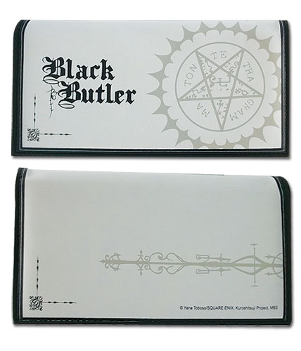 Black Butler Pentacle Girl Wallet, an officially licensed Black Butler product at B.A. Toys.