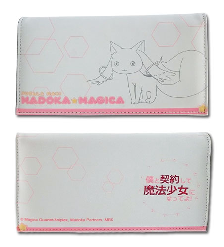 Madoka Magica - Kyubey Girl Wallet, an officially licensed product in our Madoka Magica Wallet & Coin Purse department.