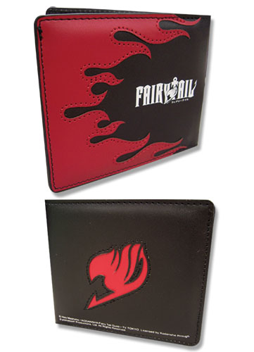 Fair Tail Nastu Wallet, an officially licensed Fairy Tail product at B.A. Toys.