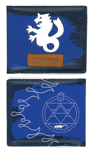 Fullmetal Alchemist Brotherhood Roy Wallet officially licensed product at B.A. Toys.