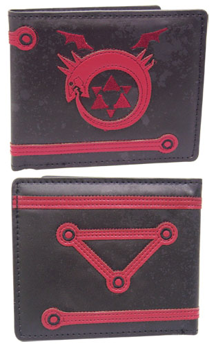 Fullmetal Alchemist Brotherhood Ouroboros Wallet officially licensed product at B.A. Toys.