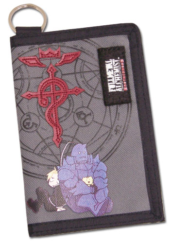 Fullmetal Alchemist Brotherhood Ed& Al Sd Wallet officially licensed product at B.A. Toys.