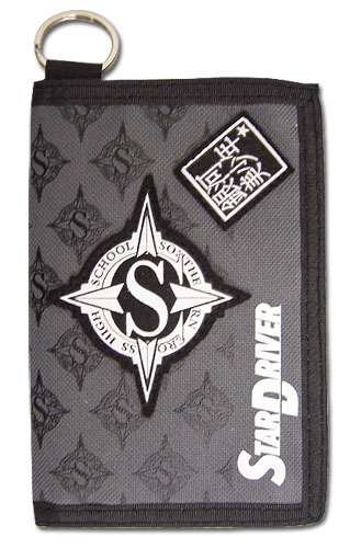 Star Driver - School Icon Wallet, an officially licensed product in our Star Driver Wallet & Coin Purse department.