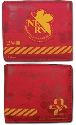 Evangelion New Movie - 02 Wallet, an officially licensed Evangelion product at B.A. Toys.