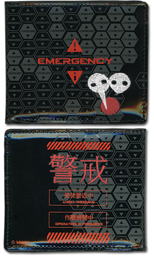 Evangelion New Movie - Emergency Wallet officially licensed Evangelion Wallet & Coin Purse product at B.A. Toys.