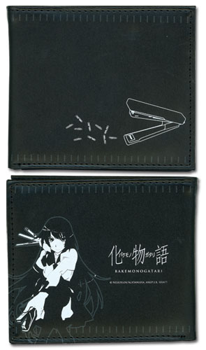 Bakemonogatari - Hitagi Boy Wallet, an officially licensed Bakamongatari product at B.A. Toys.