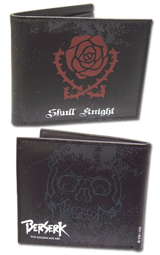 Berserk Skull Knight Wallet, an officially licensed Berserk product at B.A. Toys.