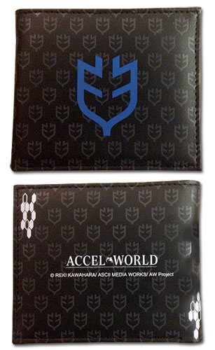Accel World - Leonids Icon Boy Wallet, an officially licensed product in our Accel World Wallet & Coin Purse department.
