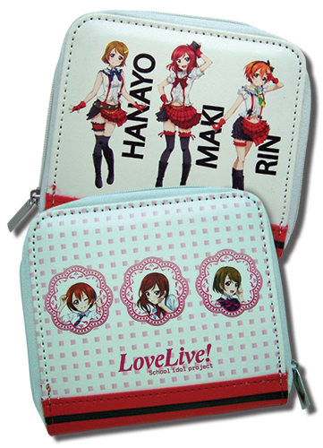 Love Live - Group Wallet officially licensed product at B.A. Toys.